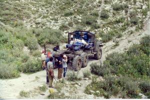 2000 год Заброска на Треугольник (Абхазия, массив Арабика)