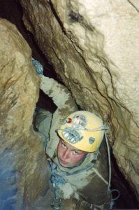 Анна Зверева (Овсянникова) 2000 год Пещера Пшеничная