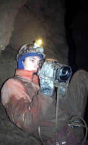 Роман Зверев пещера Заблудших 2003 г.