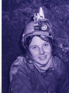 Маша Ильина пещера Заблудших февраль 2000 года