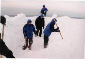 Роем лагерь 2002 год Бзыбский хребет