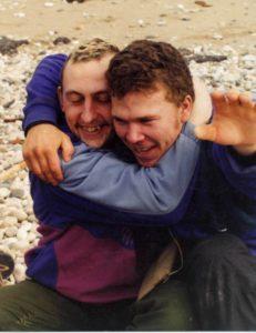 Петр Любимов и Павел Демидов 2002 год после сброски