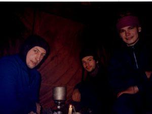 Павел Демидов, Артур Яковлев, Константин Зверев февраль 2000 г.