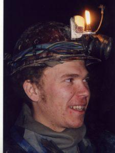 Петр Любимов пещера Заблудших февраль 2000 г.